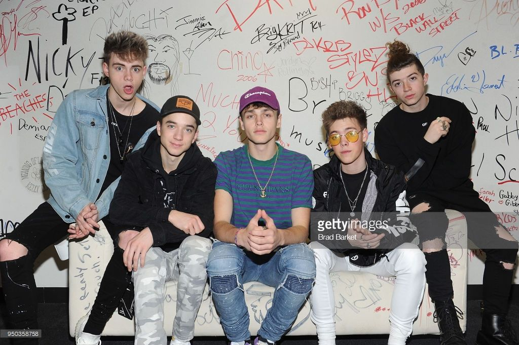 Members Of The Music Group Why Don T We Jonah Marais Corbyn