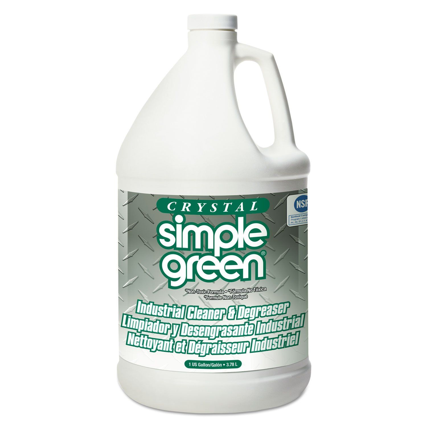 Crystal Industrial Cleaner Degreaser 1gal 6 Carton Degreasers Simple Green Simple