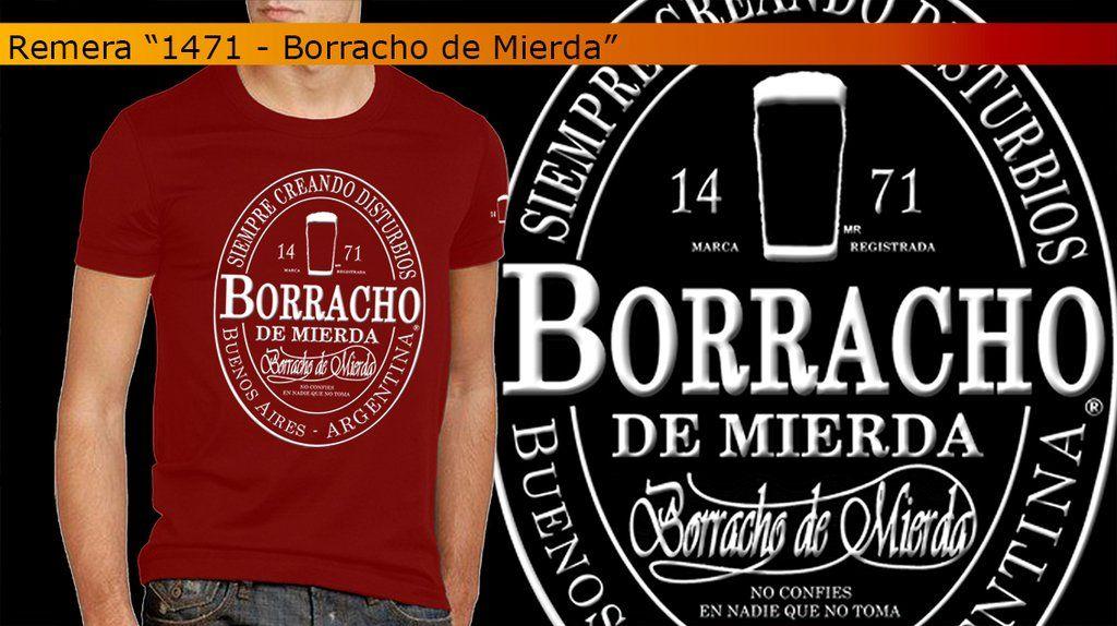 De Mierda Barrabrava Remera 1471 Borracho 0OPn8wk