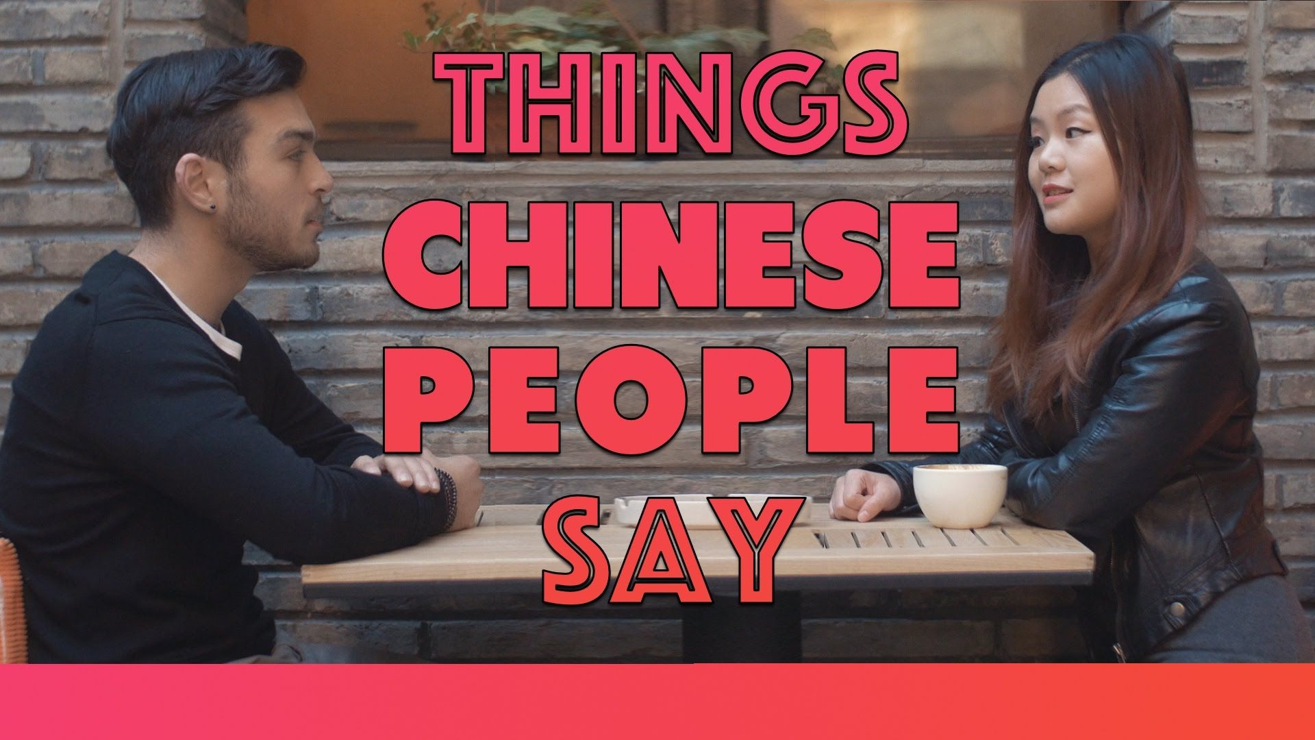 Things Chinese People Say Chinese people, Chinese