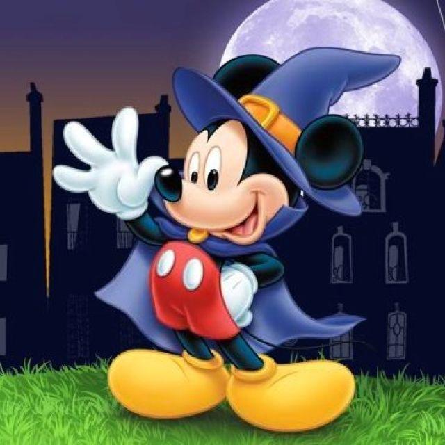 Halloween mickey cartoni disney disney mickey mouse e disney