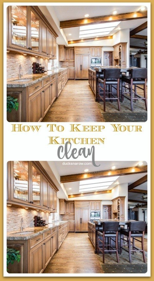Best Simple Way To Keep Your Kitchen Clean Kitchen Cleaning 640 x 480