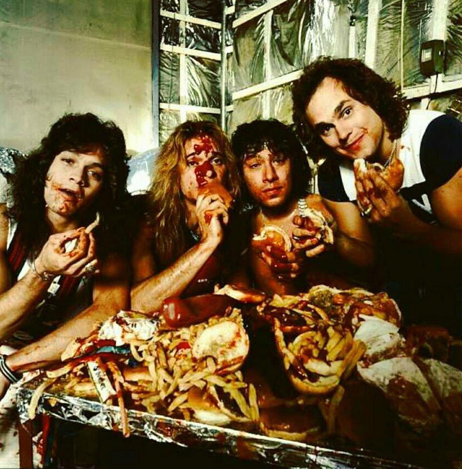 Hahah Van Halen Eddie And Alex Van Halen David Lee Roth And Michael Anthony Van Halen Van Halen 5150 Eddie Van Halen
