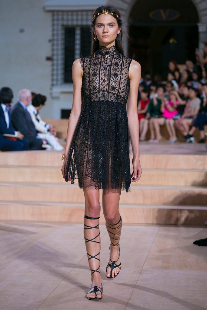 A look from the Valentino Fall 2015 Couture collection.