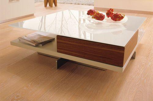table basse contemporaine en chrome en noyer ct 90 h lsta mesas pinterest center. Black Bedroom Furniture Sets. Home Design Ideas