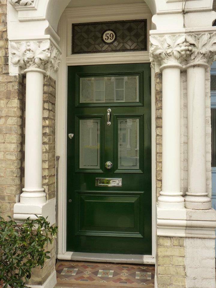 The London Door Company \'Regency Green\' paint colour - Gloss ...