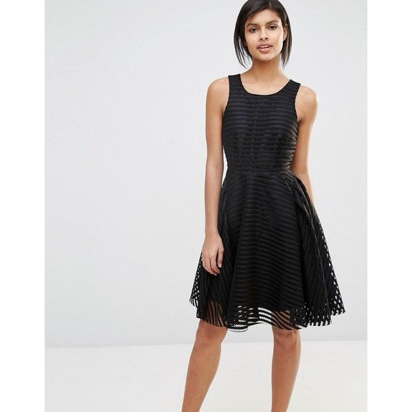 Vero Moda Lace Skater Dress (45.635 CRC) ❤ liked on Polyvore ... d7a590706