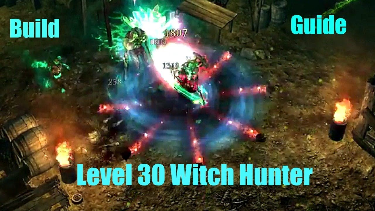 Grim Dawn - Witch Hunter level 30 build guide | Grim Dawn