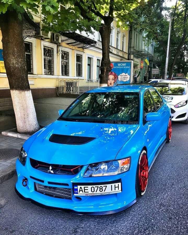 Baby Blue Evo Cars And Motorcycles Mitsubishi Cars Jdm Cars