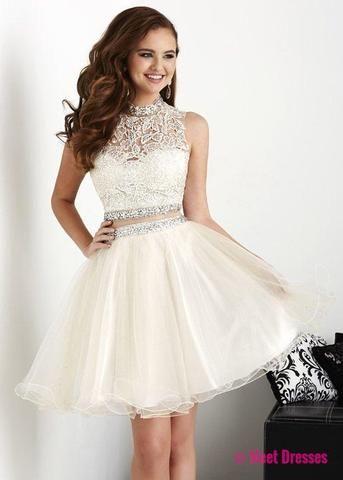 5bda9653b3 White Homecoming Dresses