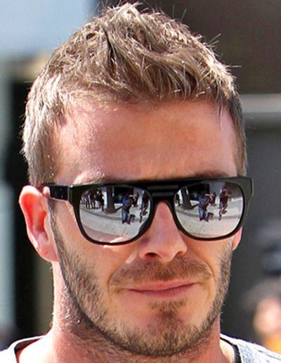 fd5bc19fc4a David Beckham featuring RETROSUPERFUTURE Flat Top sunglasses ...