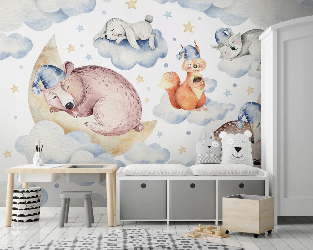 Fototapeta Dzieci Zwierzaki Fl 152x104 F13671 8955172039 Allegro Pl Home Decor Home Decor Decals Decor
