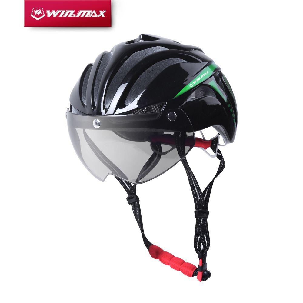 2017 Winmax Integral Dibentuk Mtb Jalan Sepeda Sepeda Helm Sepeda