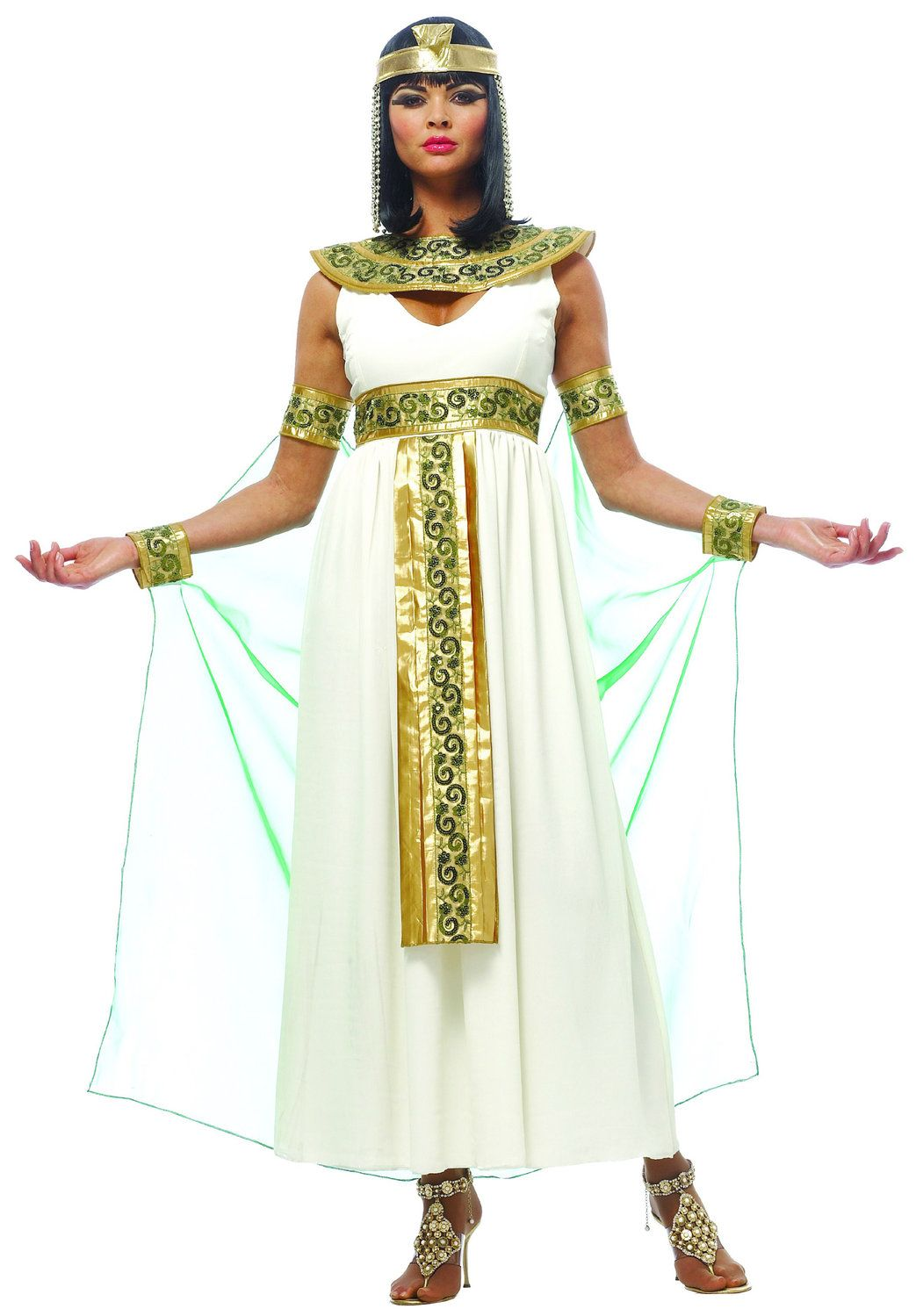 Womens Cleopatra Costume | Parties | Pinterest | Cleopatra ...