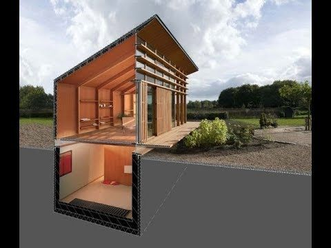Shipping Container Underground House Plans