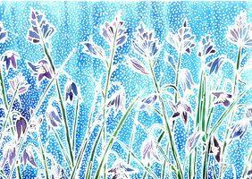 Batik Flowers 1 by dawndelver