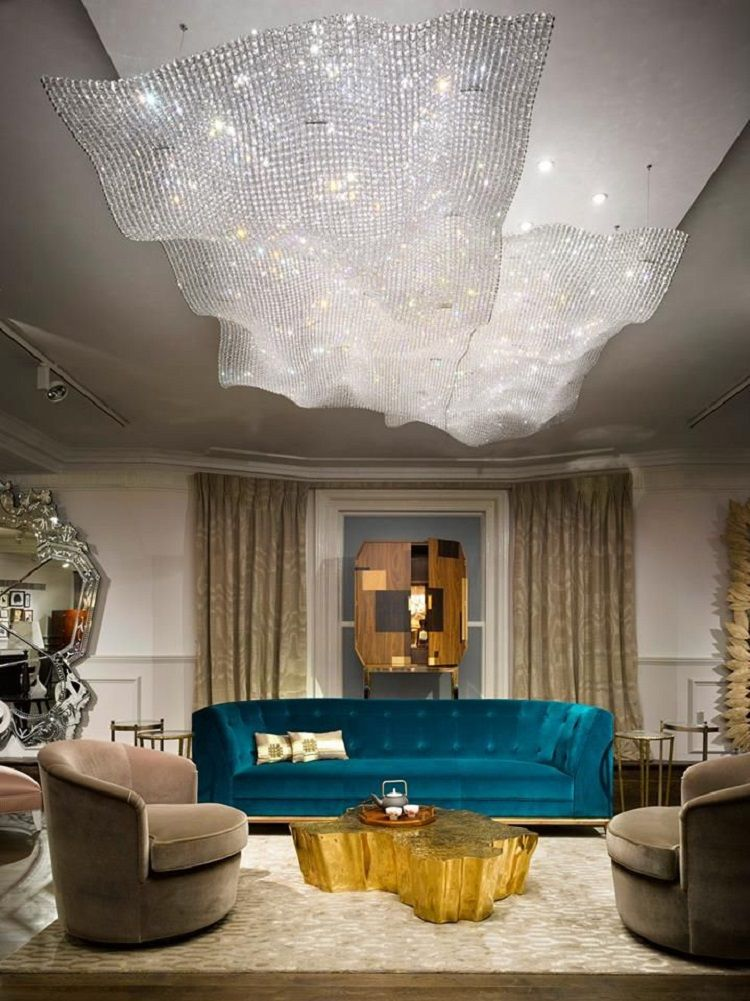 The best lighting ideas for your living room decoration Luxury