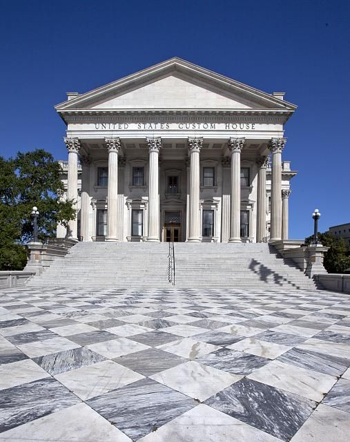 Front Exterior U S Custom House Charleston South Carolina Visit South Carolina Charleston South Carolina South Carolina