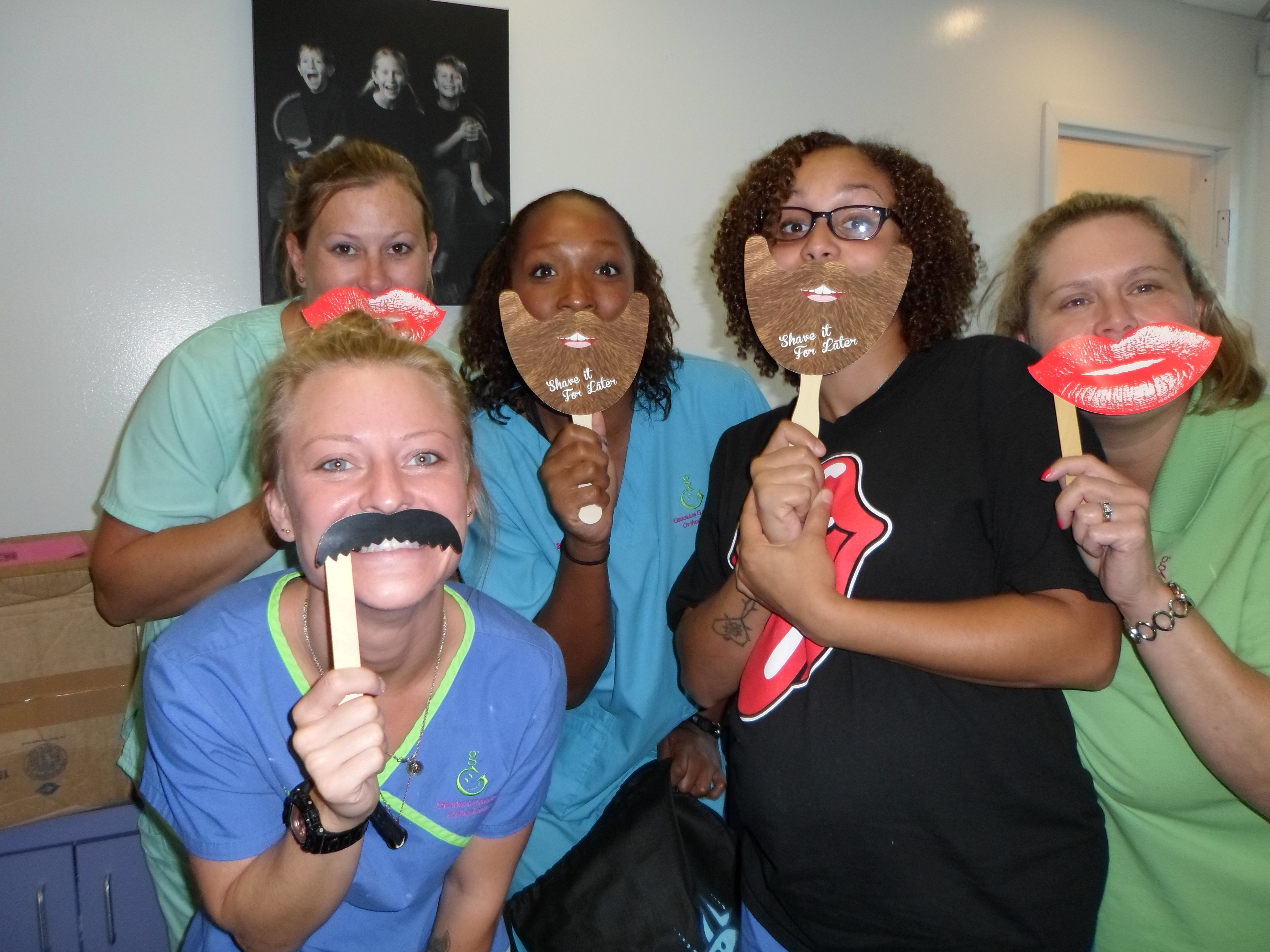 If you mustache we love our job! Orthodontics