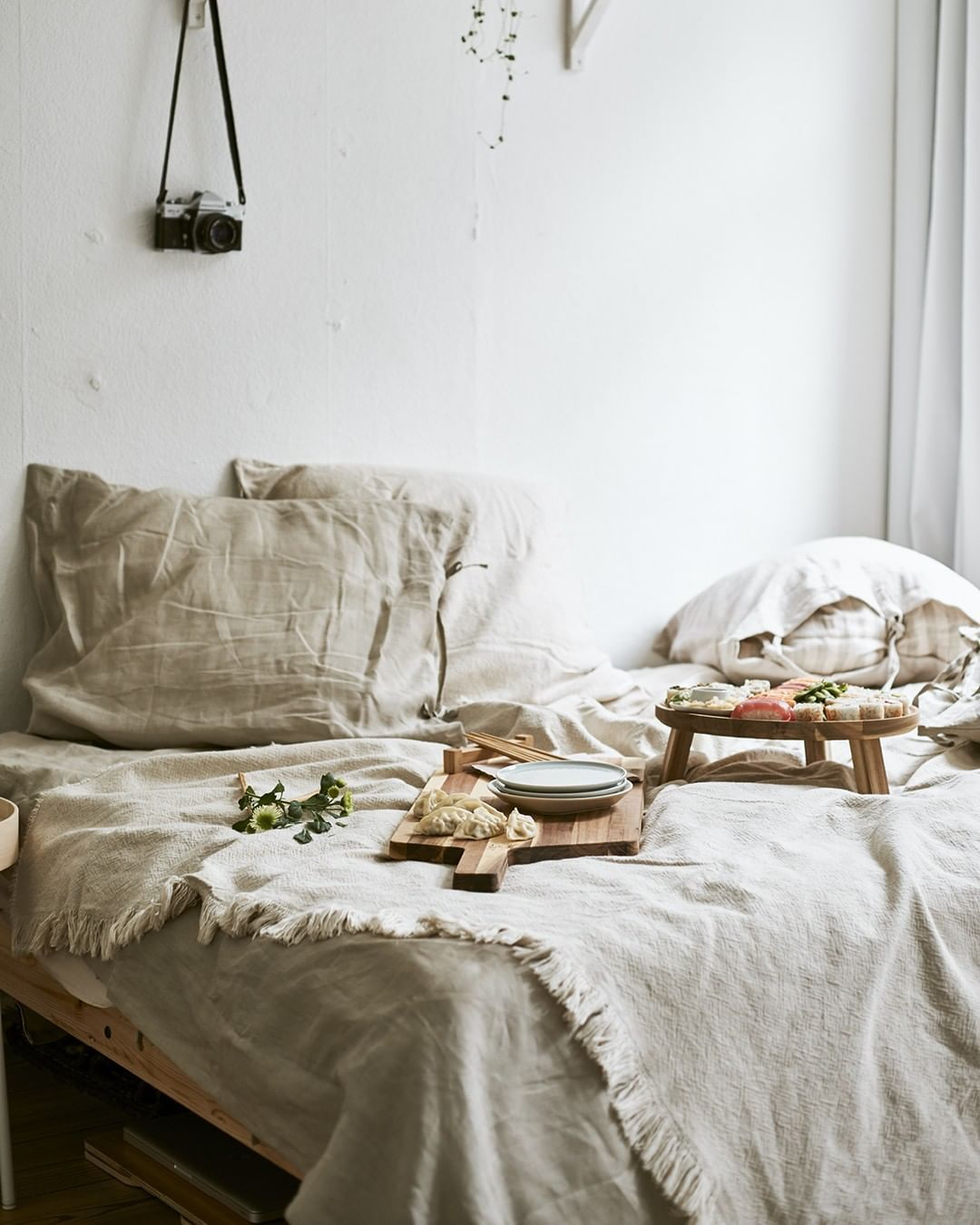 Ikea Australia On Instagram Our Beautiful Puderviva Range Is Made Of 100 Linen A Durable Fibre From The Flax P Ikea Australia Bed Linen Australia Ikea Bed