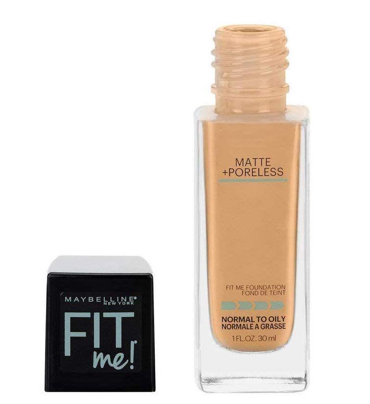 Maybelline Fit Me Matte Poreless Liquid Foundation Best