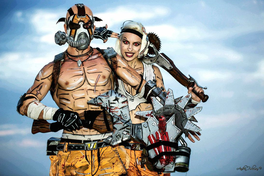 Best Couple Psycho - Borderlands 2 Cosplay by Leon by ...