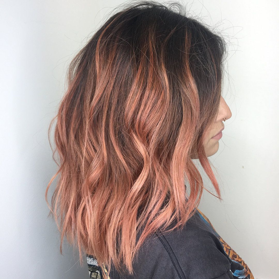 Rose-gold highlights bend and reflect all the beautiful spring daylight we're about to have.