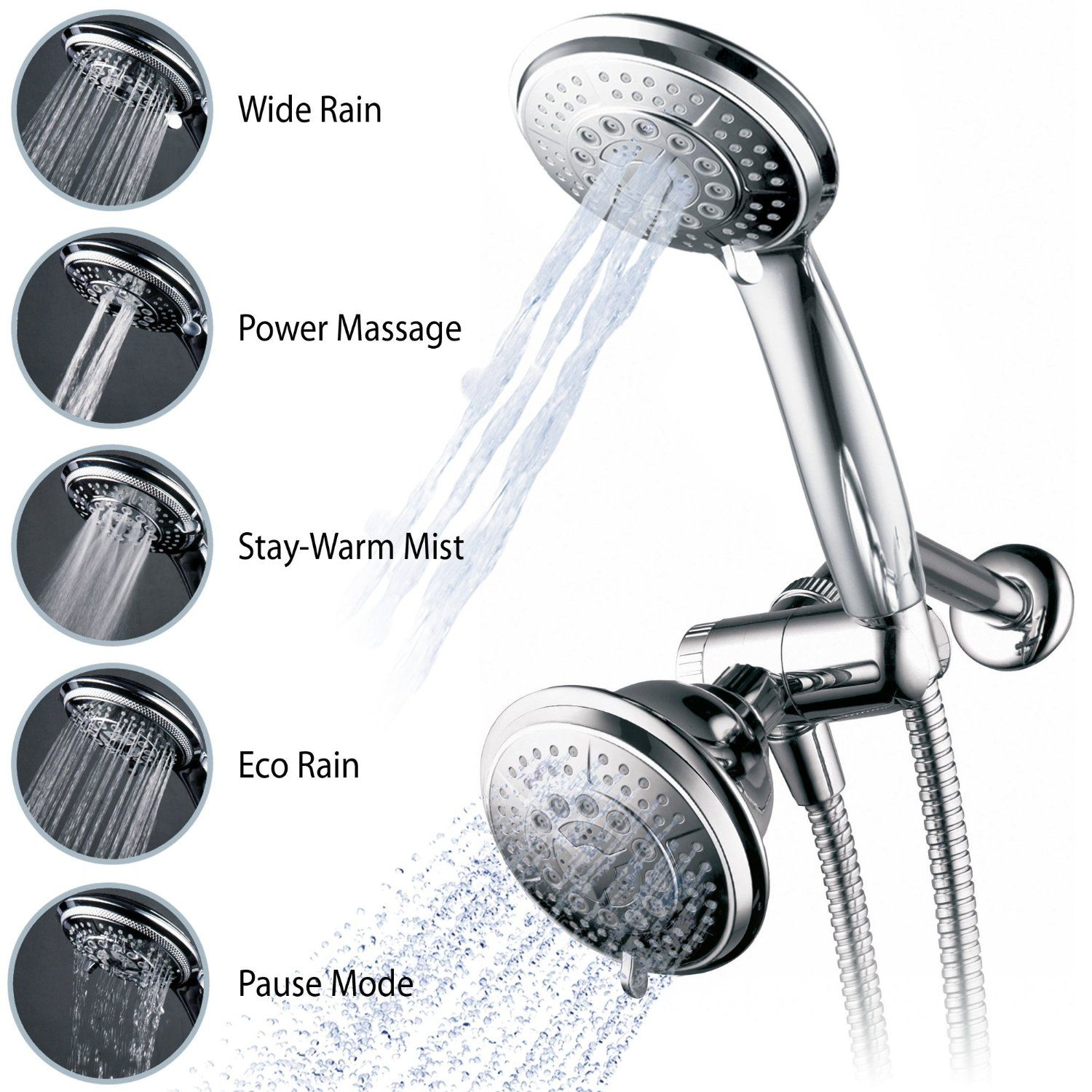 Best Handheld Shower Head Luxurious Experience With A Refreshing