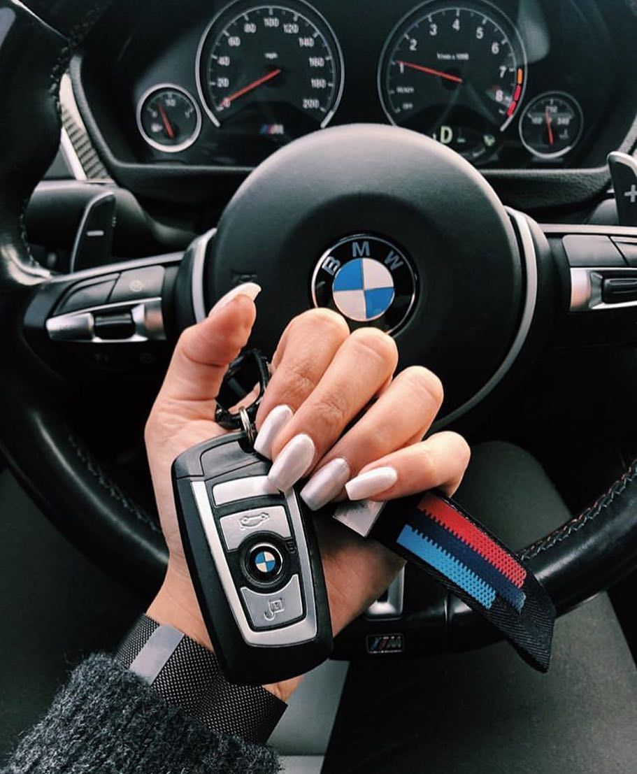 Leather Strap Chrome Keyring Keychain Key Fob Chain Ring For Bmw M Sport Performance Bmw Girl Bmw Cars Bmw Wallpapers