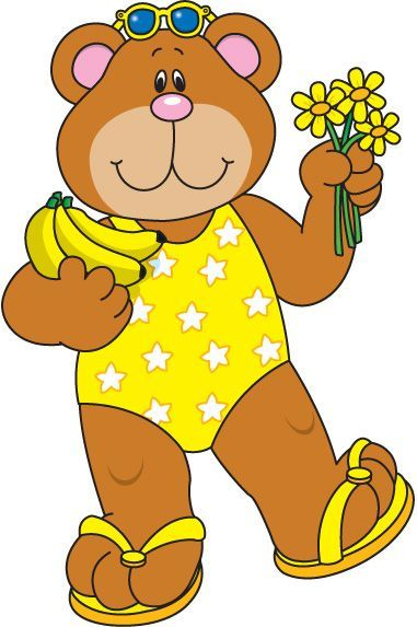 Activipeques Los Colores Amarillo Oso Clip Art Teddy Bear