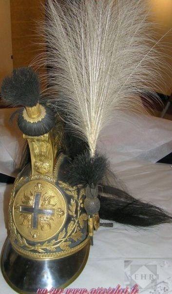 Francia mousquetaire du roi 1815 mus e de l 39 emp ri salon de provence prendas de cabeza de - Gendarmerie salon de provence ...