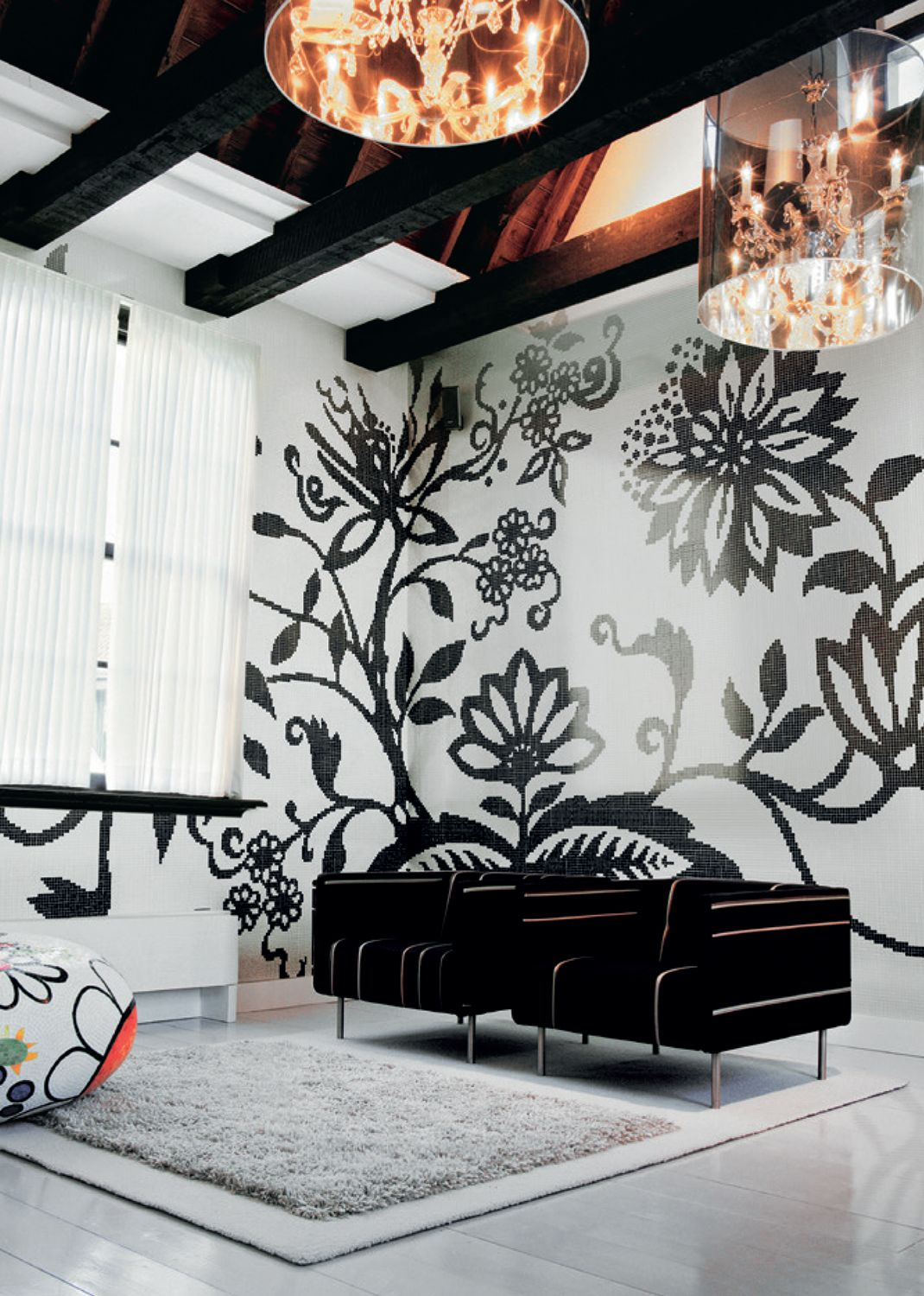Decoration Mosaic TREE is a striking organic design for Bisazza by ...