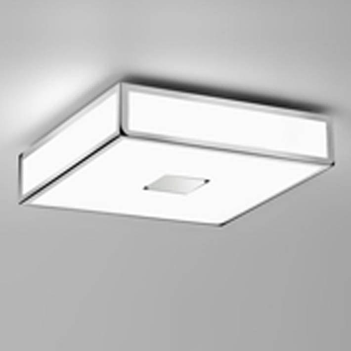 Polished Chrome Square Ceiling Light