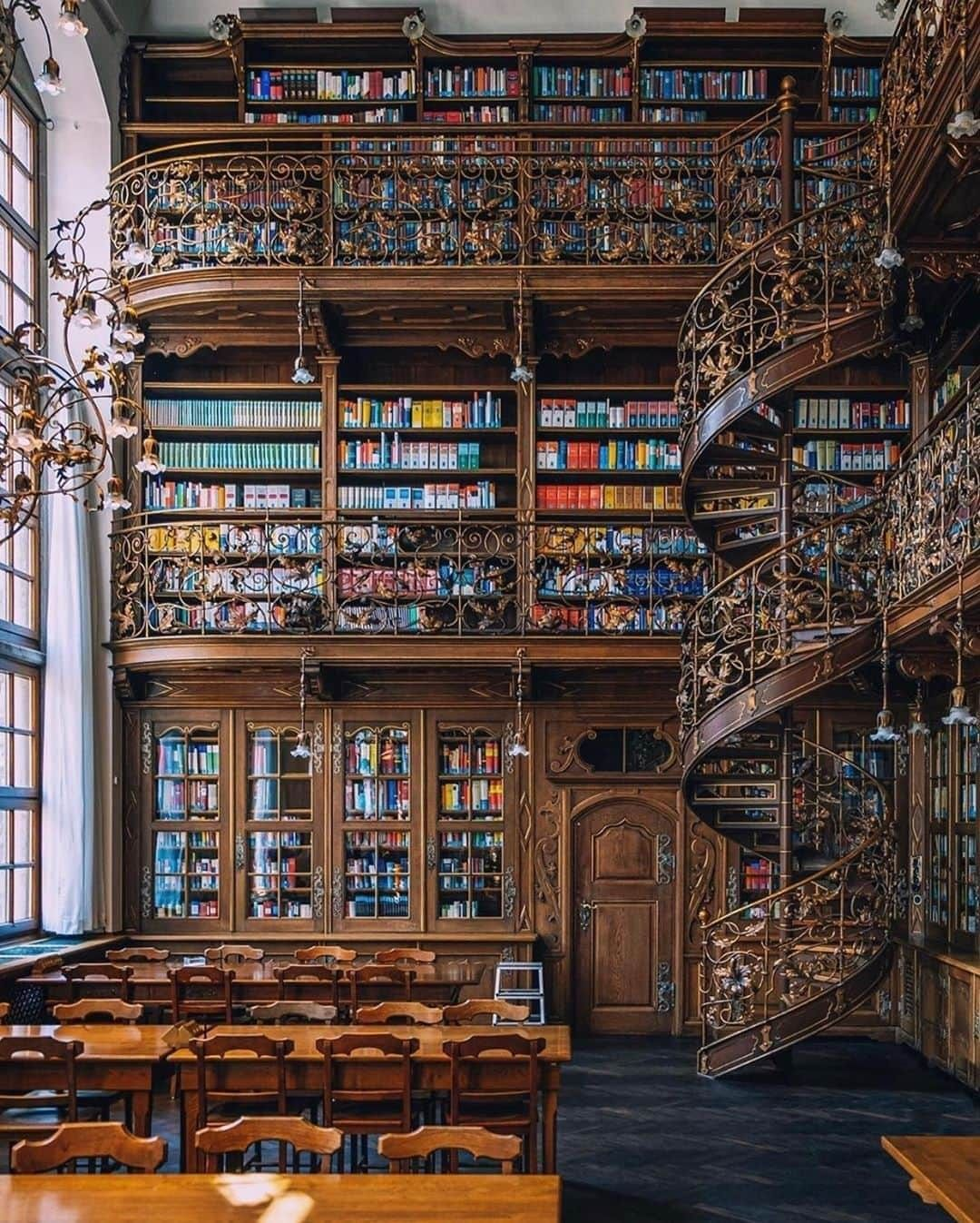 Bibliotheque Munich Allemagne Beautiful Library Old Libraries Dream Library