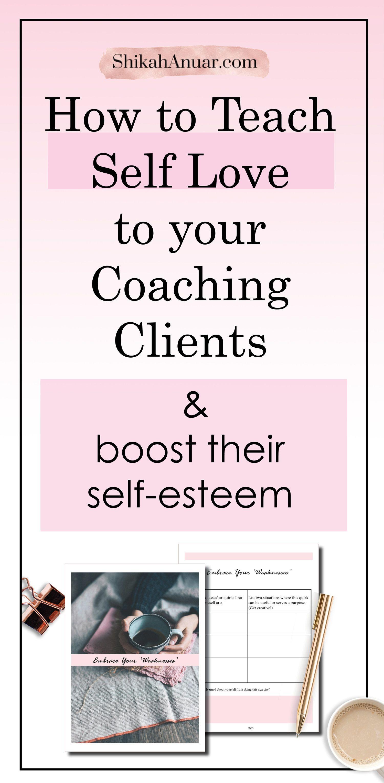Free Coaching Tool How To Use A Self Love Coaching Tool