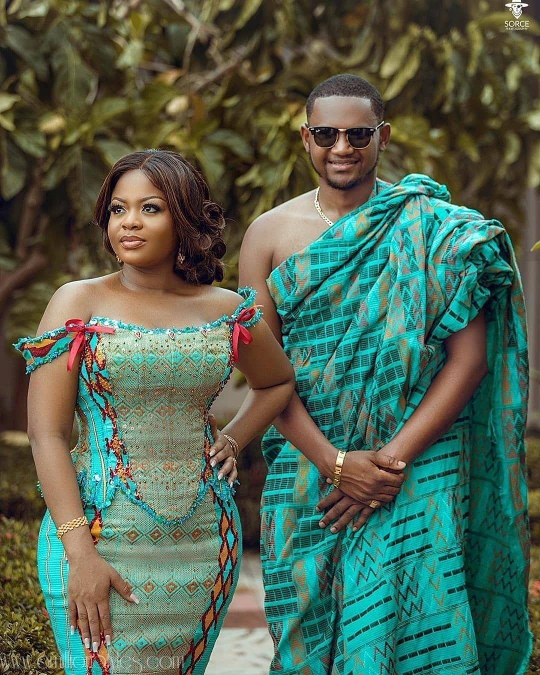 8 Fabulous Kente Styles For Ghanaian Brides – A Million Styles