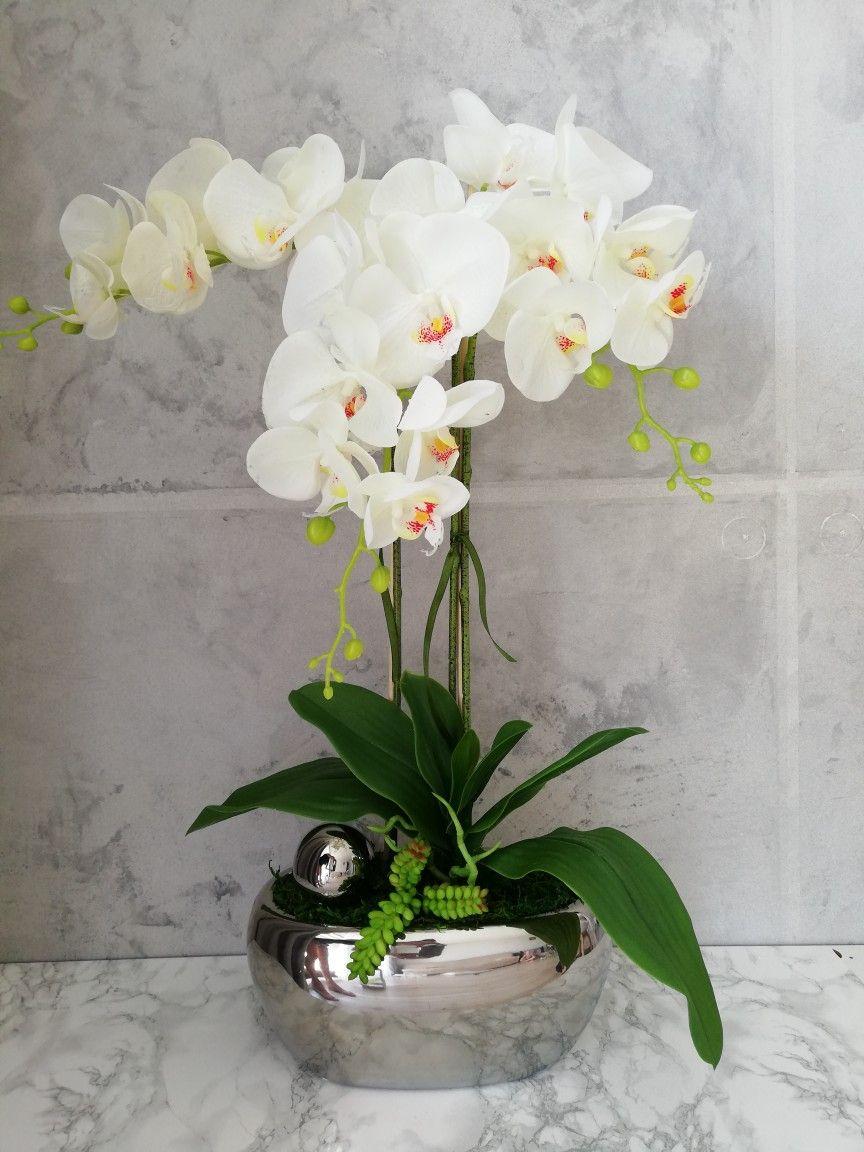 Sztuczny Storczyk Gumowy Orchidea Orchid Katedecoflower