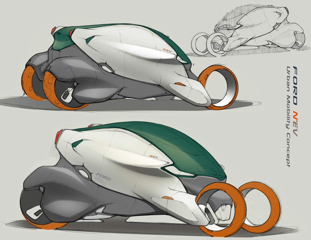 Mike T Wang S Design Blog Ford Urban Mobility Car Design Sketch Concept Car Design Car Sketch