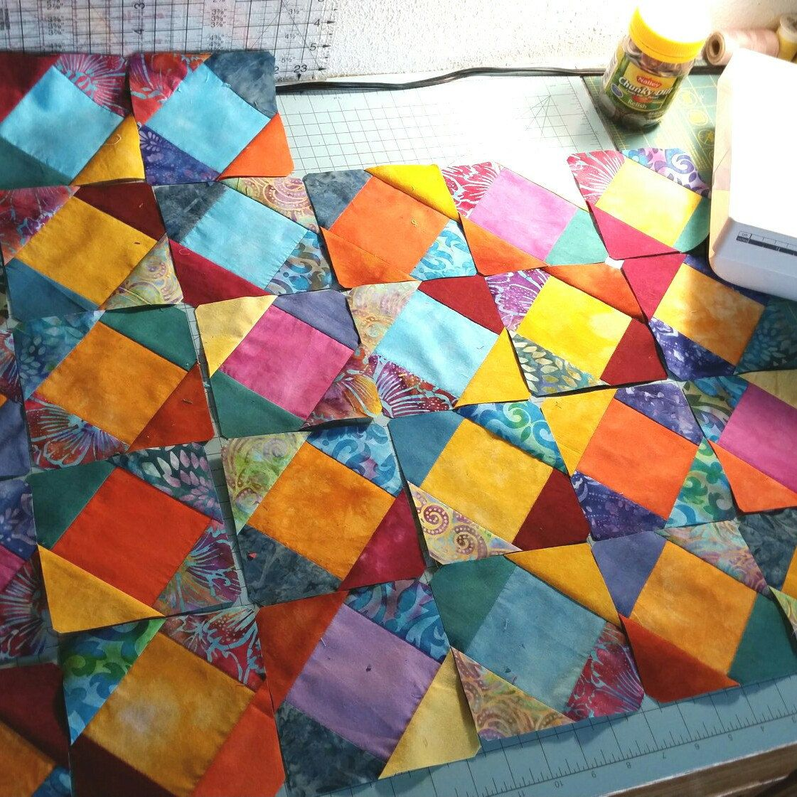 Quilt for Sale, Lap Quilt, Purple Quilt, Handmade Purple Quilt ... : home made quilts for sale - Adamdwight.com