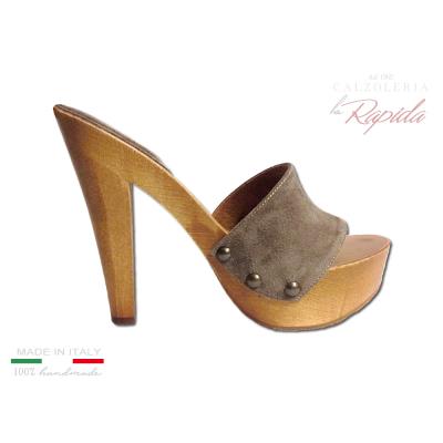 economico per lo sconto 79de4 900a6 Pin su Zoccoli e sandali Calzoleria La Rapida