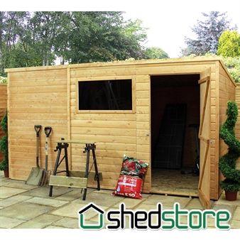 Windsor All Purpose Pent Wooden Shed Wooden Sheds Shed Plans Shed
