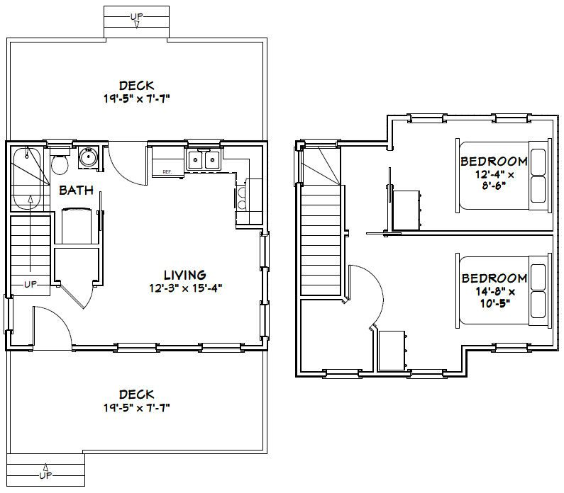 Marvelous 18 x 20 house plans contemporary ideas house for Tiny house floor plans 8 x 20