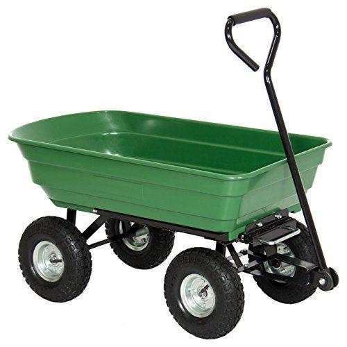 Best Choice Products 650lb Garden Dump Cart Wheelbarrow W Https Www Amazon Com Dp B01b3ub17q Ref Cm Sw R P Garden Cart Garden Wagon Garden Tools