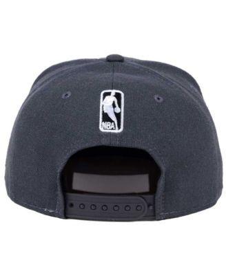 new arrival 72f80 fe4fd New Era Brooklyn Nets Solid Alternate 9FIFTY Snapback Cap - Gray Adjustable