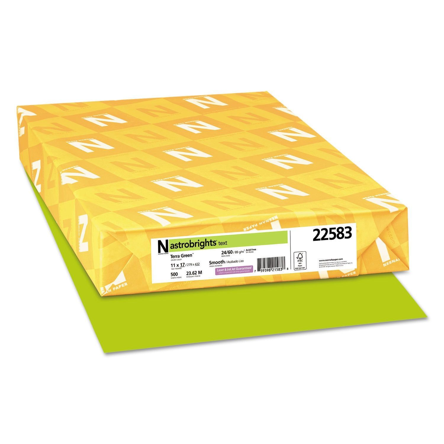 Astrobrights Color Paper 24 Pound 11 X 17 Terra Green 500 Sheets Terra Green Products In 2019 Colored Copy Paper Paper All Paper