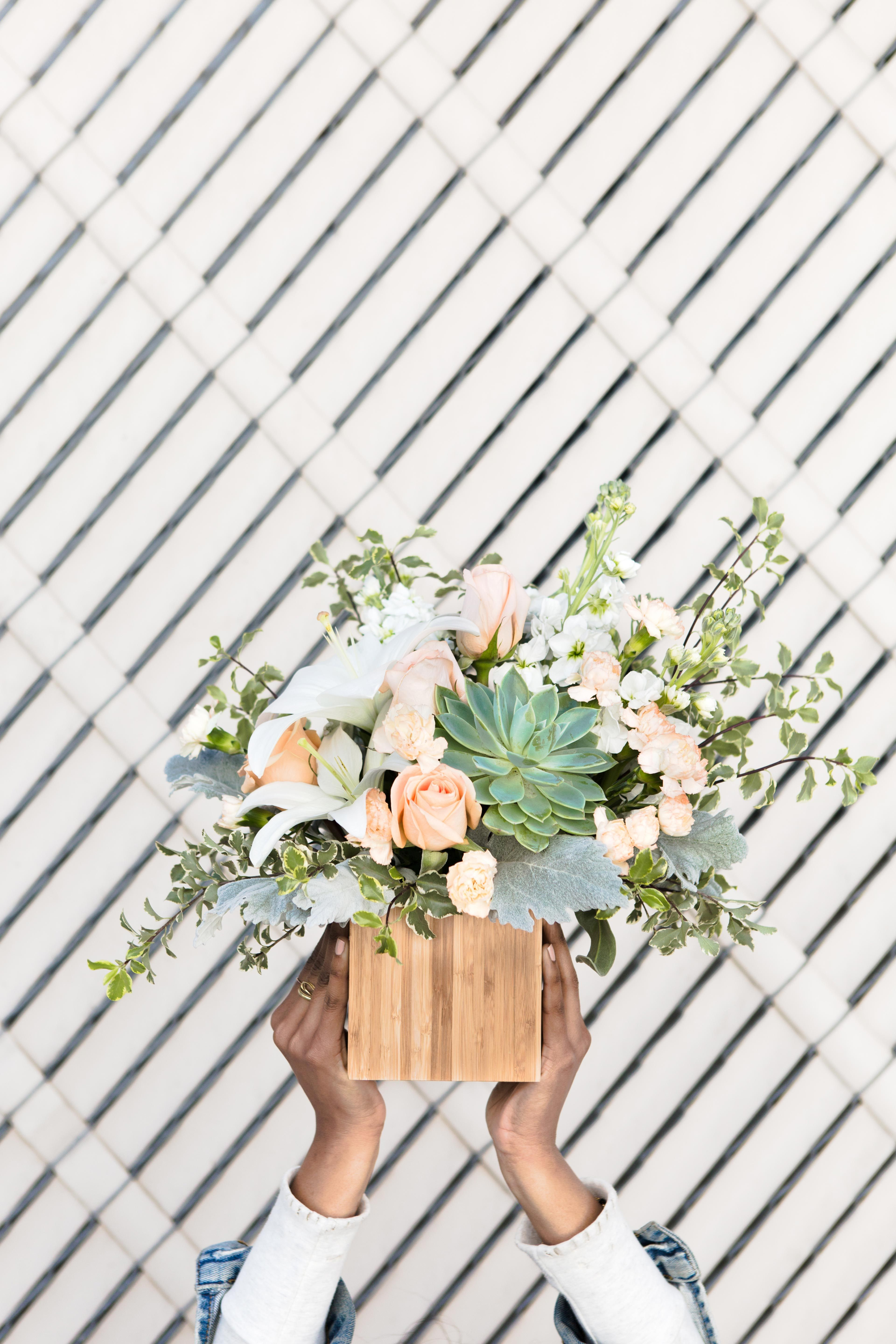 Desert Sunrise Bouquet Spring Is In The Air Pinterest Asiatic