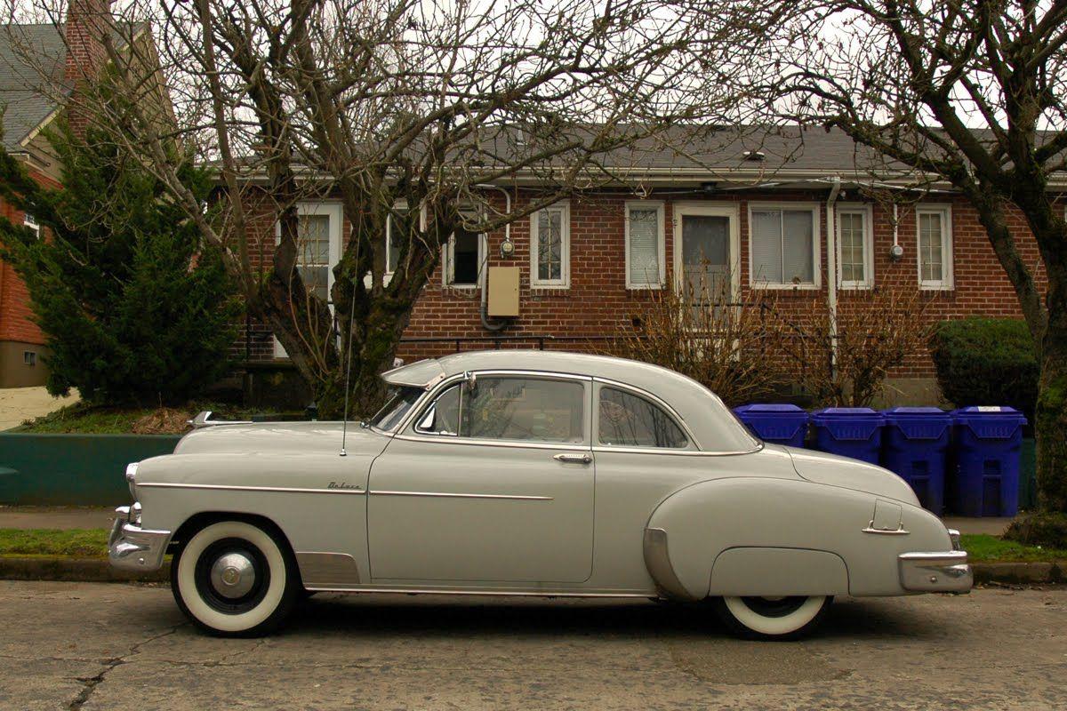 Old Parked Cars 1950 Chevrolet Styleline Deluxe Sedan Chevrolet Sedan Chevy