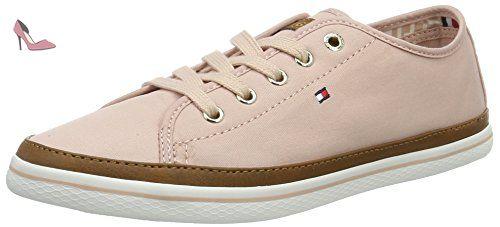 Tommy Hilfiger K1285esha 6d, Sneakers Basses Femme, Rose