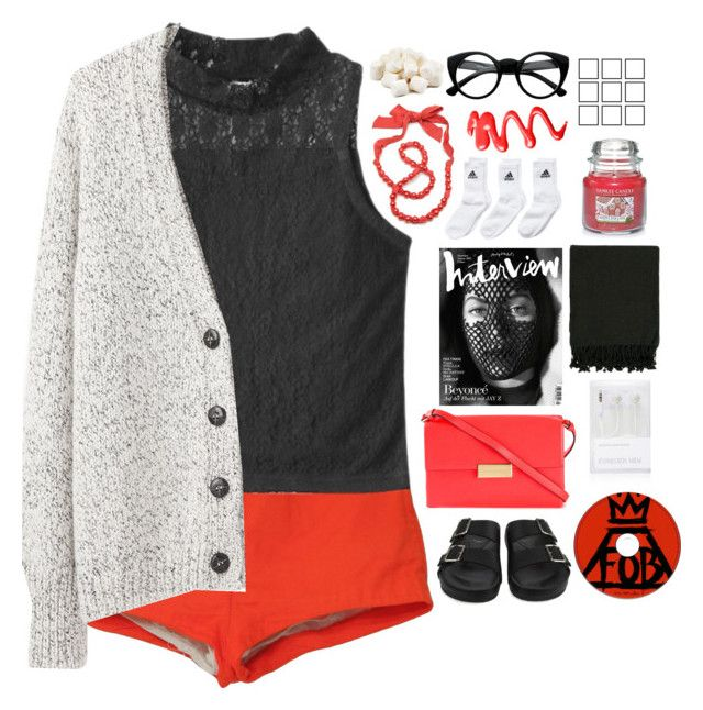 """""""☾ you're just a line in a song."""" by thundxrstorms ❤ liked on Polyvore featuring Givenchy, STELLA McCARTNEY, Vanessa Bruno Athé, adidas Originals, Forever New, Surya, Yankee Candle and Lanvin"""