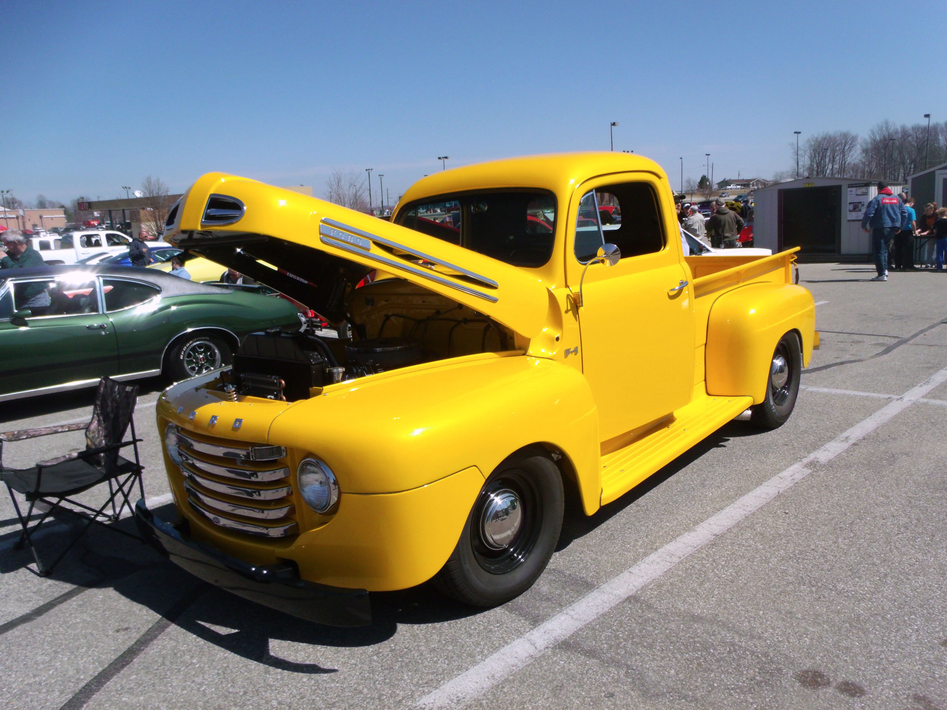 1948 Ford F 1 Pickup At The 2014 Cabin Fever Car Show In